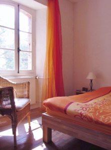 Au Bouscarrot-Schlafzimmer